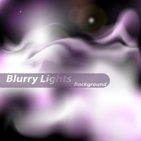 haze: Abstract background. Smoke, haze on background of blurred lights purple and lilac.
