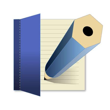 Write Icon Illustration