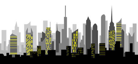 chaotic: skyscraper Illustration