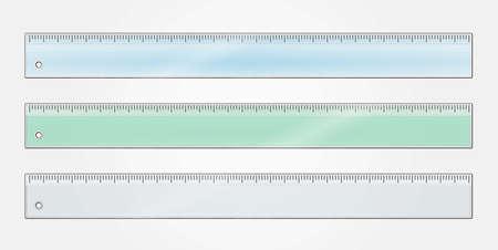 millimetre: Ruler