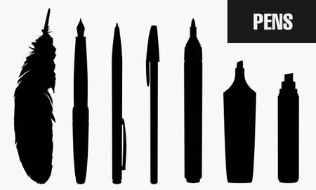book mark: Pens