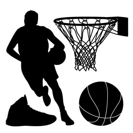 balck: Basketball