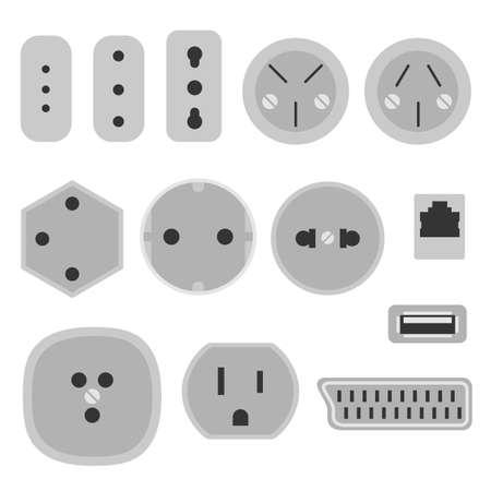 socket: socket Illustration