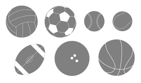 Ball silhouette Vector
