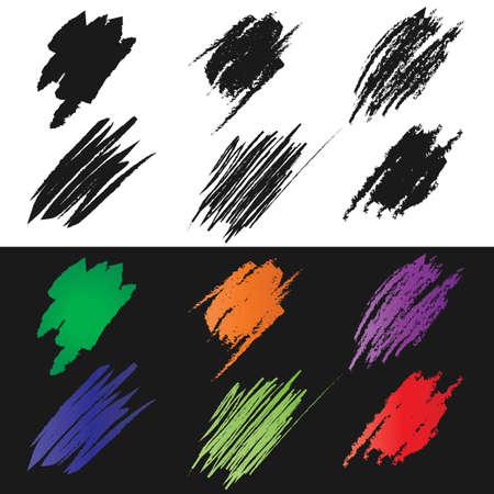 patching: Brushstroke Illustration