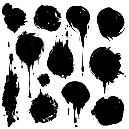 damp: Ink stains
