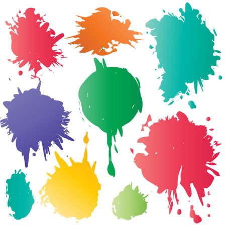 Color spots Stock Vector - 15982556