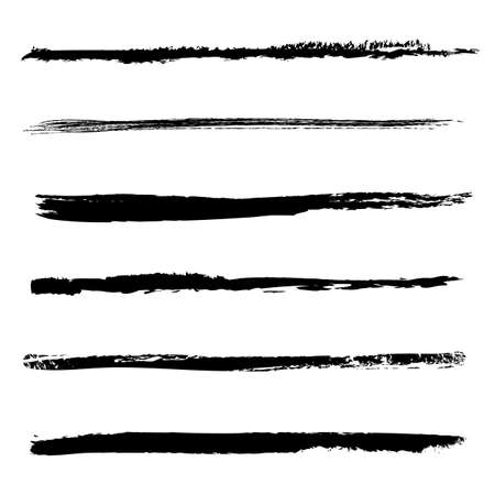 brush stroke: Brush Set