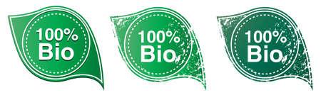 100% Bio stamp