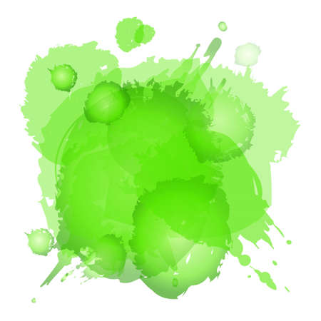 paint drips: Watercolor background Illustration