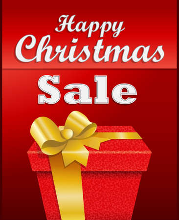 Background for Christmas sales