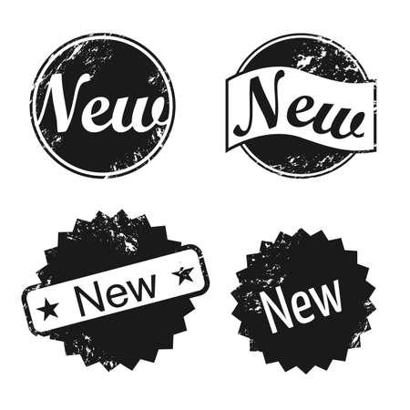 New stamp icons Illustration
