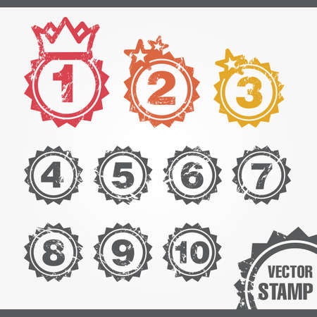 stamp for ranking