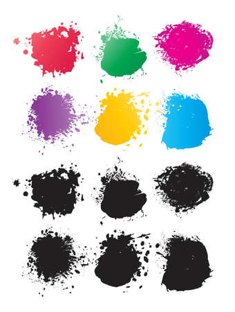 Vector Color Spots Stock Vector - 21993136