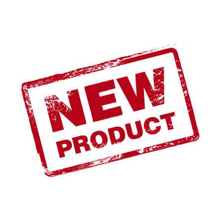 Nieuw product Vector Stamp