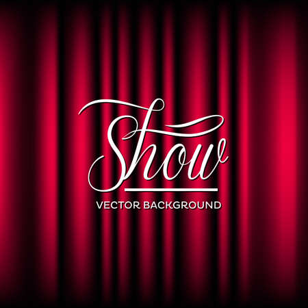 Theatre Show Vector Background Vector