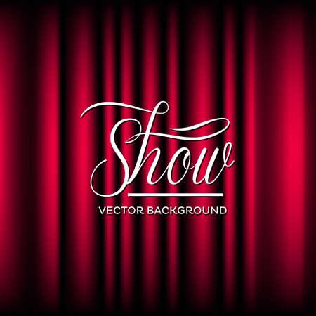 Theatre Show Vector Background