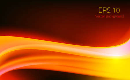 Abstract Background Fire Wave Effect