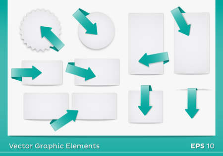 Vector Area Graphic Elements