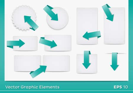 Vector Area Graphic Elements