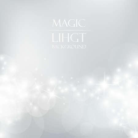 마법의 빛 배경 일러스트