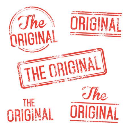 authenticity: The Original Vector Stamp Set