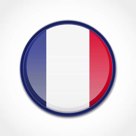 french symbol: French Flag Illustration