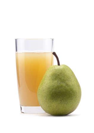 Pear juice Stock Photo