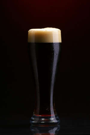 Dark beer photo