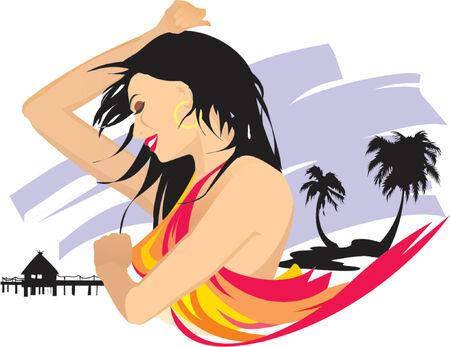 Hawaii traveling girl