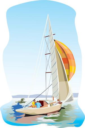 Yacht Stock Vector - 951508