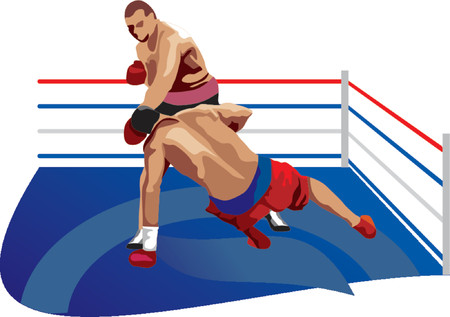 ringside: Boxing Illustration