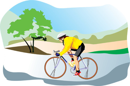 pedals: Bike Illustration