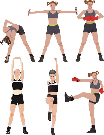 Fitness vector series
