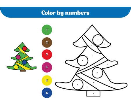 Ungewöhnlich Weihnachten Färbung Nach Nummer Zeitgenössisch - Ideen ...