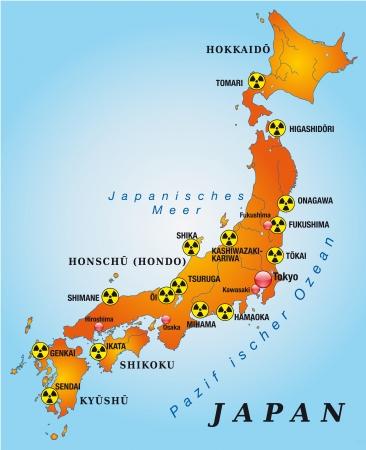 fukushima: Map of Japan