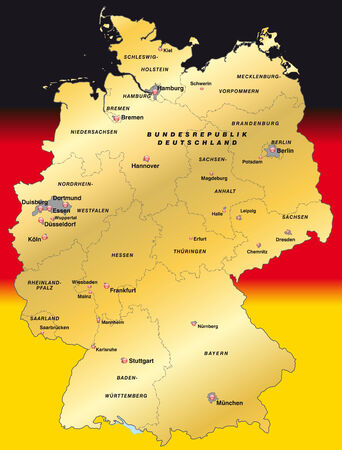 cartographer: Map of Germany as an overview map