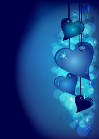 sfondo romantico: Romantico sottofondo Vettoriali