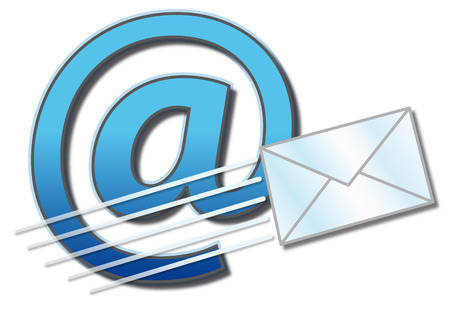 email icon: Contact button