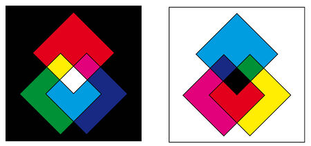 color mixing: Color mixtures