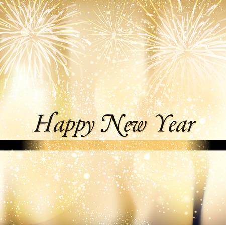 felicitaciones: Feliz Año Nuevo Foto de archivo