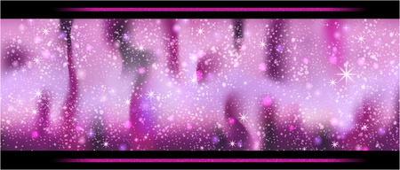 Pinker sparkling background with stars