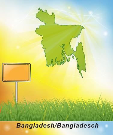 general map: Map of Bangladesh