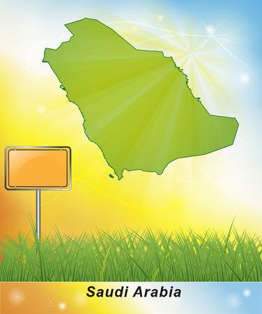 arabia: Map of Saudi Arabia