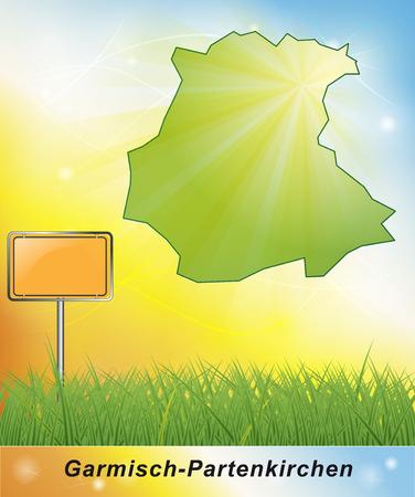 ettal: Map of Garmisch-Partenkirchen