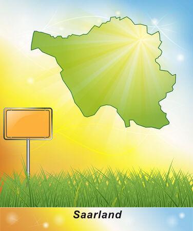 saarlouis: Mapa de Sarre