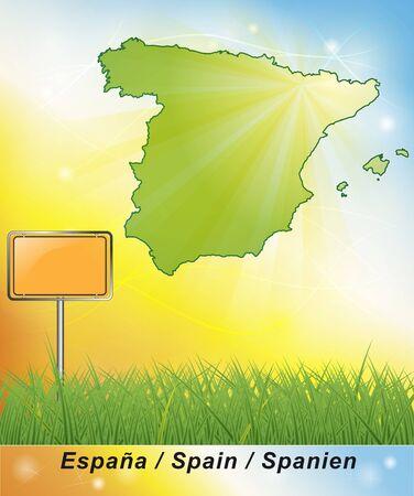 bilbao: Map of Spain