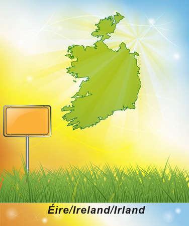 dun: Map of Ireland
