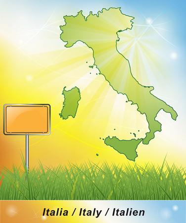 terni: Map of Italy