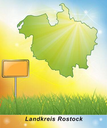 rostock: Map of Rostock